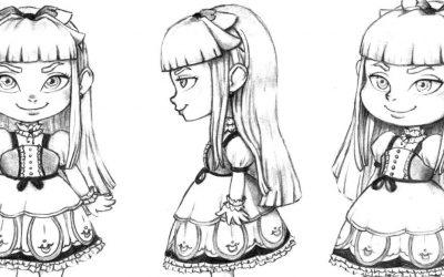 Proyecto Diseño de un personaje y props.